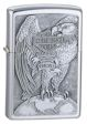 H-D Made In USA Eagle and Globe Zippo Lighter - 200HDH231 Zippo