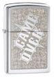 Game Over Zippo Lighter - High Polish Chrome - 28447 Zippo