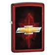 Chevy Bowtie Zippo Lighter - Candy Apple Red - 28636 Zippo