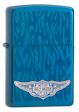 Harley Davidson Ghost Wings Zippo Lighter - Sapphire - 28687 Zippo