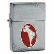 Windy Collectible 2013  Zippo Lighter - 1935 Brush Chrome - 28729 Zippo