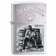 Jack Daniel&#39s Scences From Lynchburg Series 3 Zippo Lighter - Brushed Chrome - 28755 Zippo