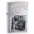 Jack Daniel&#39s Scences From Lynchburg Series 4 Zippo Lighter - Brushed Chrome - 28756 Zippo