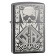 Sons of Anarchy Reaper Crew Zippo Lighter - Black Ice - 28757 Zippo