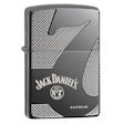 Armor Jack Daniel&#39s Old No. 7 Zippo Lighter - High Polish Black Ice - 28817 Zippo