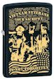 Custom Vietnam Veterans Your Sacrifice Is Not Forgotten Zippo Lighter - Black Matte - 811323 Zippo