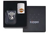 Harley Davidson Pouch Gift Set (Lighter Not Included) - HDP6 Zippo