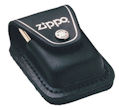 Lighter Pouch w/Loop Black - LPLBK Zippo